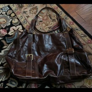 Vintage Kenneth Cole New York All Leather Bag